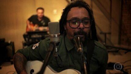 Falcão fala sobre o processo de produção seu álbum solo