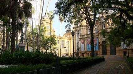 #PartiuRS: conheça Porto Alegre fazendo um city tour pela Linha Turismo