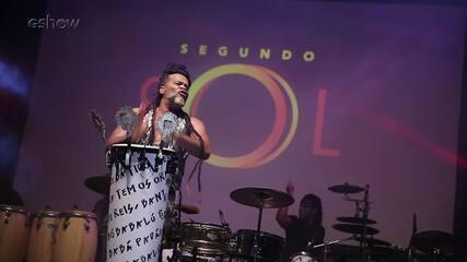 Veja os bastidores da festa de lançamento de Segundo Sol