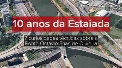 Ponte Estaiada Octavio Frias de Oliveira completa 10 anos