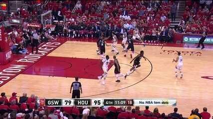 Melhores momentos de Rockets 127 x 105 Warriors pela final da Conferência Oeste da NBA