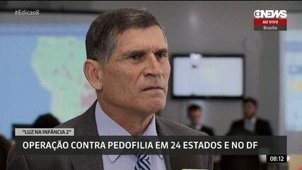 Secretário Nacional de Segurança Pública conta detalhes da ação Luz na Infância 2