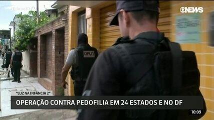 Policiais cumprem 55 mandados contra pedofilia no Rio de Janeiro