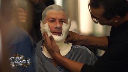 Confira a preparação de Paulo Ricardo para viver Beth Carvalho