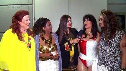 Participantes do Show dos Famosos comentam apresentações do último programa