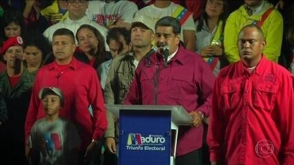 Vitória de Maduro na Venezuela é alvo de críticas da comunidade internacional