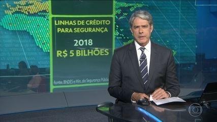 BNDES anuncia R$ 5 bilhões para a área da segurança este ano