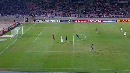 Melhores momentos: Universidad de Chile 0 x 2 Vasco pela Taça Libertadores da América