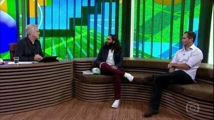 Juan Pablo Sorin comenta atuação de Messi
