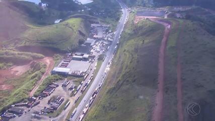 PRF registra 12 pontos de congestionamento em estradas da Zona da Mata e Vertentes nesta quinta-feira (24)