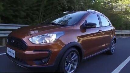 Veja como anda o Ford Ka FreeStyle