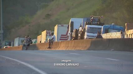 Protesto dos caminhoneiros chega ao 5º dia e compromete setores na região