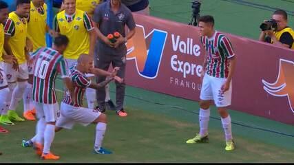 Resolve, Kuririn! Veja os gols de Marcos Júnior pelo Fluminense em 2018