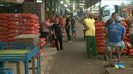 Veja a situação do abastecimento de alimentos em São Luís