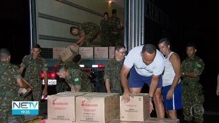 Aviões da Força Aérea transportam medicamentos de Minas Gerais para Pernambuco