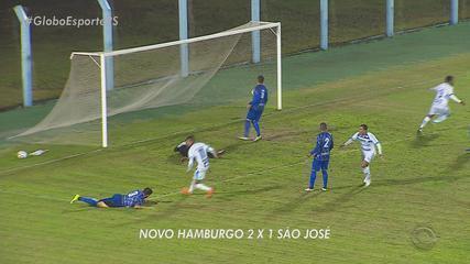 Pela Série D, Novo Hamburgo vence São José pelo placar de 2 a 1