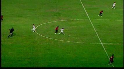 Sport caiu para o Santos por 3 a 1 no jogo de ida e 3 a 0 no jogo de volta pela final da Copa do Brasil Feminina 2008