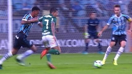 Melhores momentos de Grêmio 0 x 2 Palmeiras pela 10ª rodada do Campeonato Brasileiro 2018