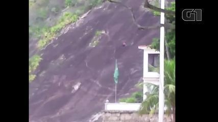 Vídeos mostram tiroteio na Praia Vermelha, na Urca