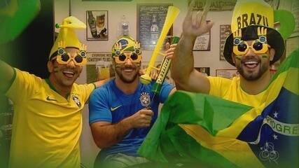 Grupo de amigos se prepara para asissitir jogos da Copa na Rússia