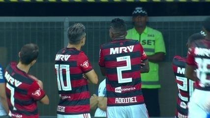 Último gol do Flamengo de falta foi marcado por Diego em 2018