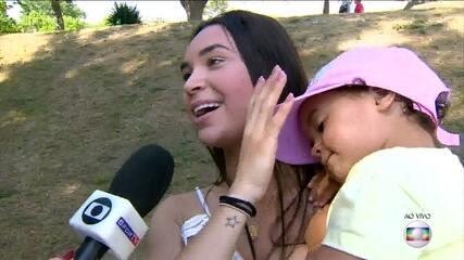 Mulher e filha de Philippe Coutinho conversam com o 'Mais Você'