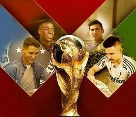 Bolão da Copa: jogadores da Série A dão seus palpites para o Mundial da Rússia