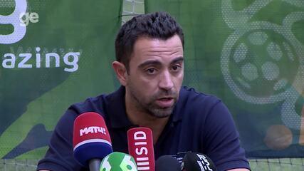Xavi fala sobre polêmica com Casemiro e rumores sobre Neymar