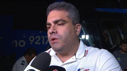 Vice-presidente do Santos explica ausência de Rodrygo na partida contra o Fluminense