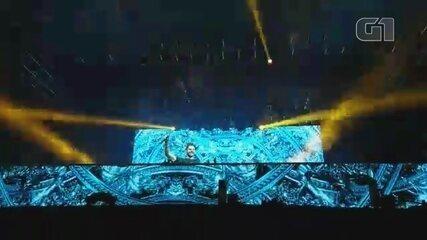 Alok tocou música nova 'Unity' na Festa Junina de Votorantim