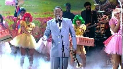 Mumuzinho emociona como Louis Armstrong