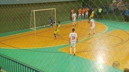 Confira os jogos desta segunda-feira (25) na Taça EPTV de Futsal Sul de Minas 2018
