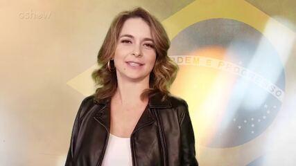 Cláudia Abreu relembra Copa do Mundo inesquecível