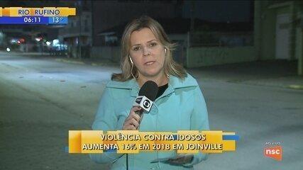 Em Joinville, violência contra idosos aumenta 16% em 2018