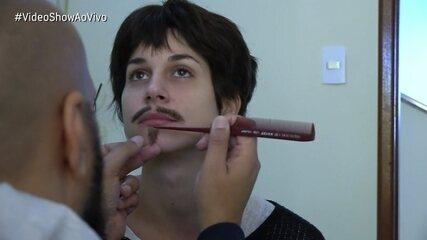 Chandelly Braz mostra transformação de Mariana em Mário