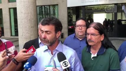 Marcelo Freixo e vereadores do PSOL pedem ao MP investigação sobre Crivella