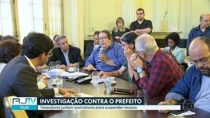 Três pedidos de impeachamant contra Marcelo Crivella são protocolados