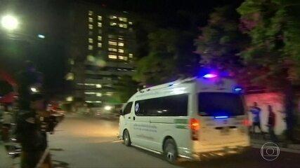 Mais quatro garotos são resgatados da caverna na Tailândia
