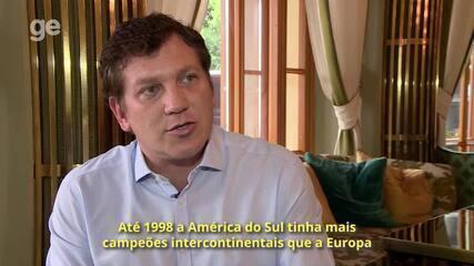 Alejandro Domínguez compara mudanças da UEFA com as da Conmebol