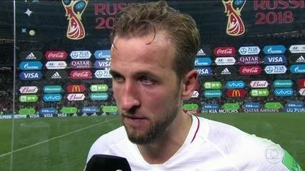 Artilheiro da Copa, Harry Kane diz que Croácia jogou bem e fez um bonito jogo