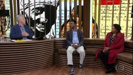 """Tom Farias e Eunice de Jesus falam sobre o best-seller """"Quarto de Despejo"""""""