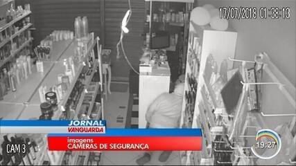Cinco lojas foram furtadas em Atibaia durante a última madrugada