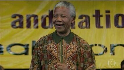 África do Sul celebra os 100 anos de nascimento de Nelson Mandela