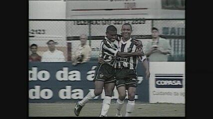 Relembre a goleada do Atlético-MG sobre Paraná em 2001