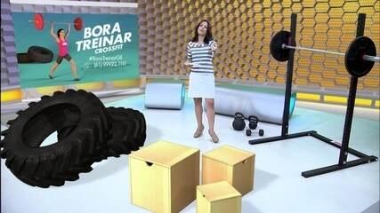 """""""Bora Treinar CrossFit"""": conheça o novo desafio do Globo Esporte"""