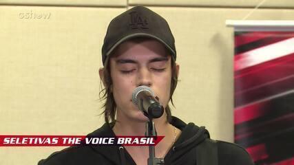 Confira vídeo exclusivo de Roberto Küster na seletiva do The Voice Brasil