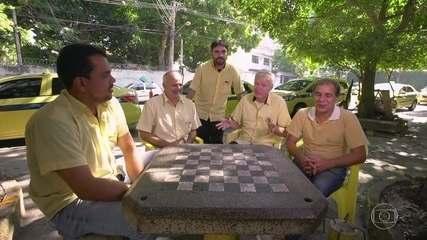 Amigos taxistas revelam curiosidades sobre Tatá Werneck