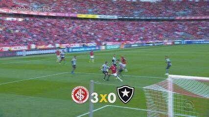 Pottker e Nico comandam vitória do Inter sobre o Botafogo no Beira-Rio
