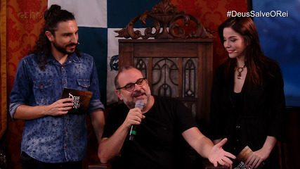 Fabrício Mamberti anuncia cena secreta no Gshow