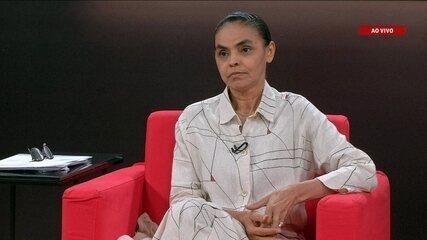 Central das Eleições: Veja a 1ª parte da entrevista da pré-candidata Marina Silva (Rede)